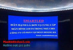 Cung cấp màn hình LED Cong P3 trong nhà tại Hạ Long