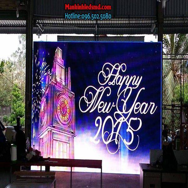 Màn hình led sân khấu tiệc cưới p2.5