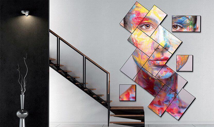 Màn hình ghép nghệ thuật