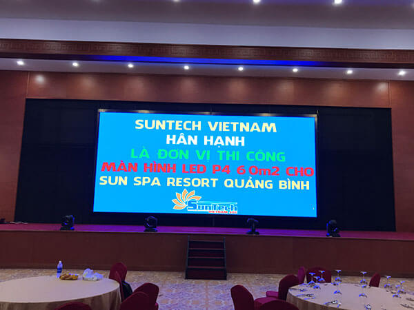 Màn hình LED P4 Sun Spa Resort