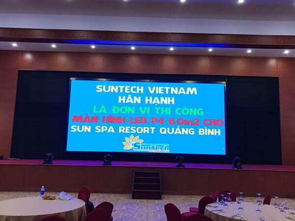 Màn hình LED P4 Sun Spa Resort