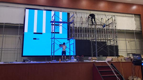Lắp đặt màn hình LED P4