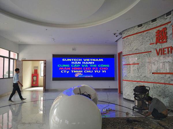 Lắp đặt màn hình LED P2