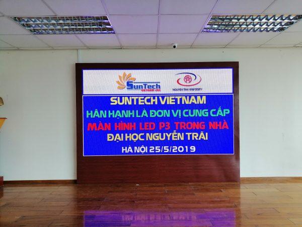 Màn hình led p3 Nguyễn Trãi