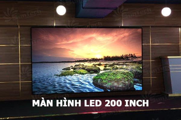 màn hình led 100 inch, 200 inch, 300 Suntech